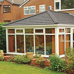 Large Conservatory Tiled Roof